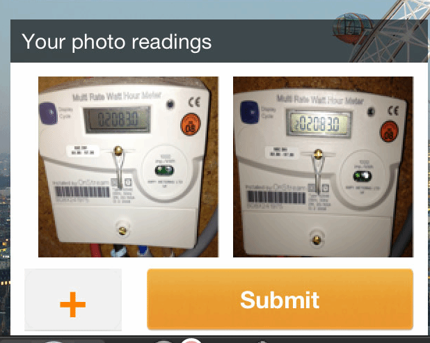 how to read a smart electric meter edf