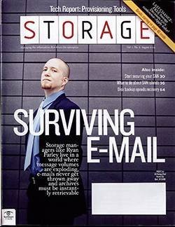 How storage managers can survive e-mail archiving