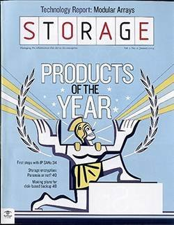 Storage products of the year 2003