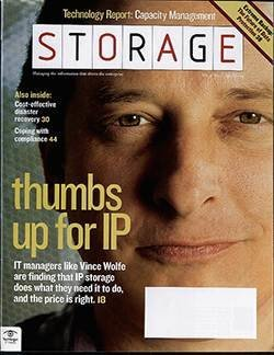 Storage managers give thumbs up to IP storage