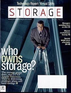 Who owns storage in your organization?