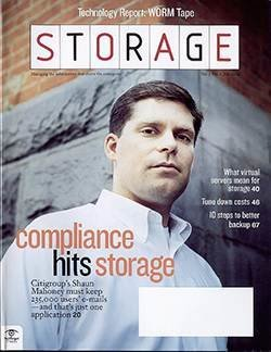 Email storage lessons learned from Citigroup