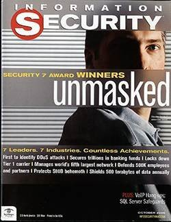 Security 7 Award winners unmasked