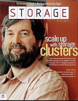 How to scale up with storage clusters