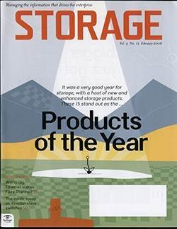 Storage Products of the Year 2005