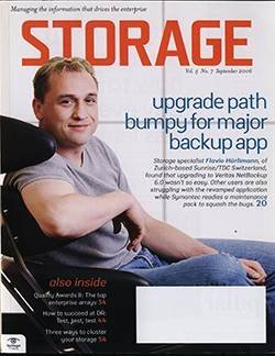 Upgrade path bumpy for major backup app