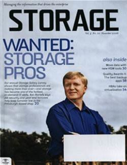 Salary survey reveals storage skills are in demand