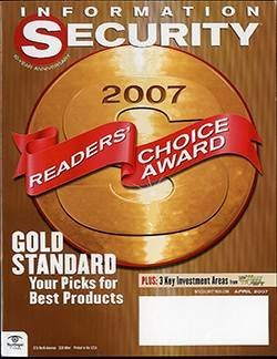 Security Products Readers' Choice Awards 2007