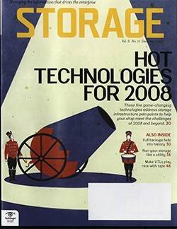 Hot storage technology for 2008