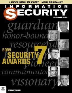 Winners of Information Security magazine's Security 7 Award