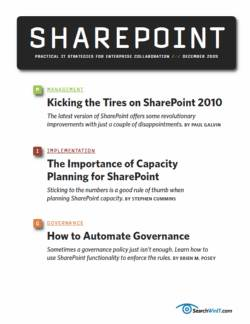 Exploring the top SharePoint 2010 features