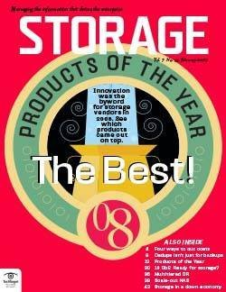 Storage magazine's data storage products of the year