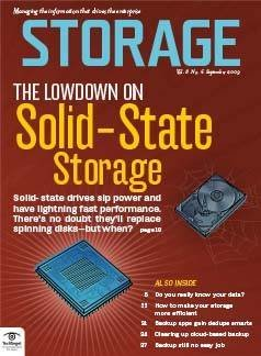 The lowdown on solid-state storage