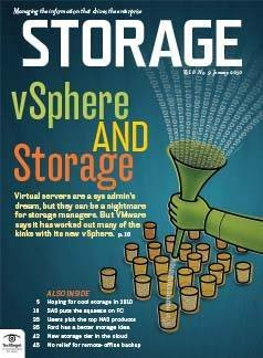 How vSphere is easing storage burdens of server virtualization