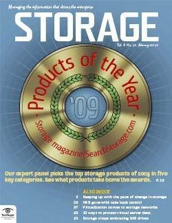 2009 Storage Products of the Year