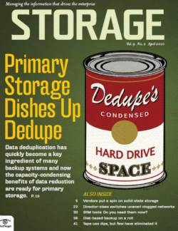 Primary storage dishes up dedupe