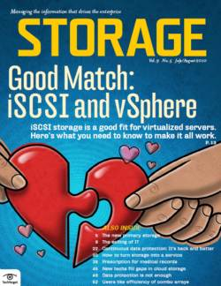 Good match: iSCSI and vSphere