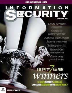Spotlight on top security trends of 2011 and Security 7 award winners