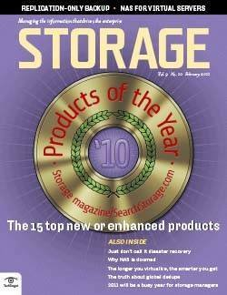 Storage Products of the Year 2010