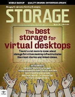 The best storage for virtual desktops