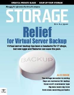 Relief for virtual server backup