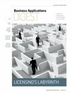 Navigating the business application software licensing maze