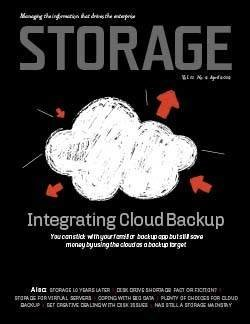 Best practices for cloud backup integration