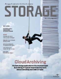 Data archiving in the cloud