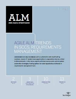 Agile ALM: Trends in SCCS, requirements management