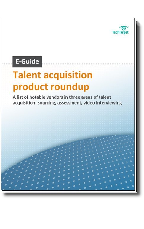 Talent Acquisition Product Roundup