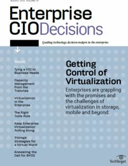 How CIOs can take control over data storage virtualization