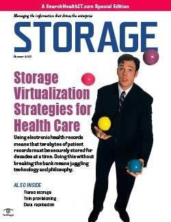 Storage virtualization strategies for health care
