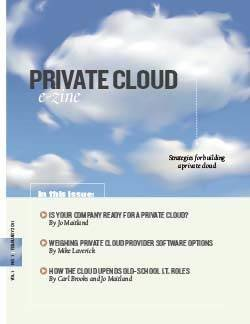 Strategies for building a private cloud