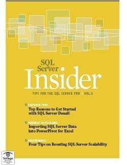 Top three SQL Server Denali features to watch