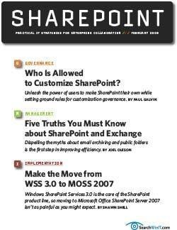 Who is allowed to customize SharePoint?