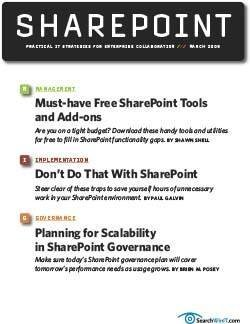 Must-have free SharePoint tools and add-ons