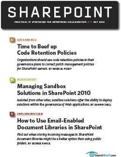 Add code retention to your SharePoint governance plan