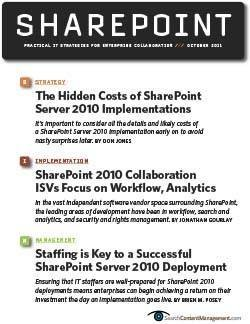 Taking a closer look at SharePoint Server 2010 costs