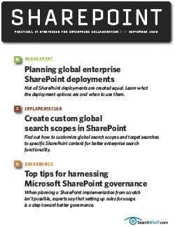 Practical IT strategies for enterprise collaboration
