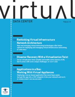 Rethinking virtual infrastructure network architecture