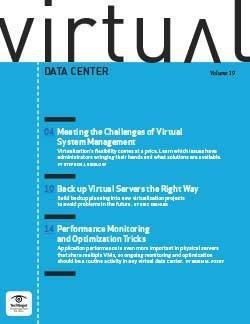 Meeting the challenges of virtual system management