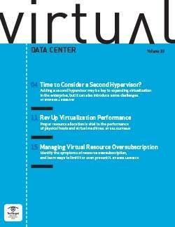 Time to consider a second hypervisor?