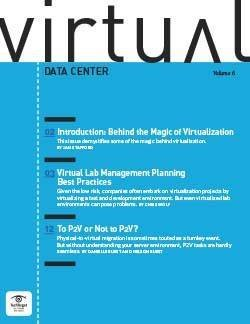 Behind the magic of virtualization
