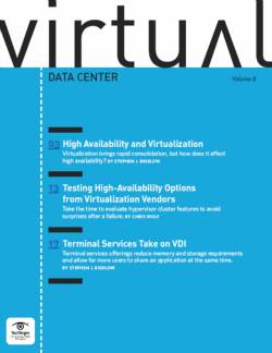 High availability and virtualization