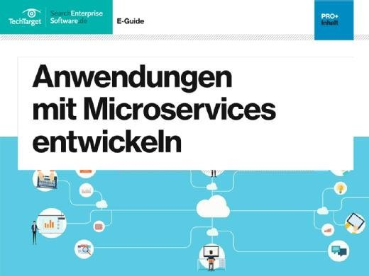 E-Guide Anwendungen mit Microservices entwickeln