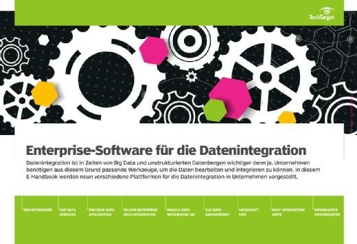E-Handbook Enterprise-Software für die Datenintegration
