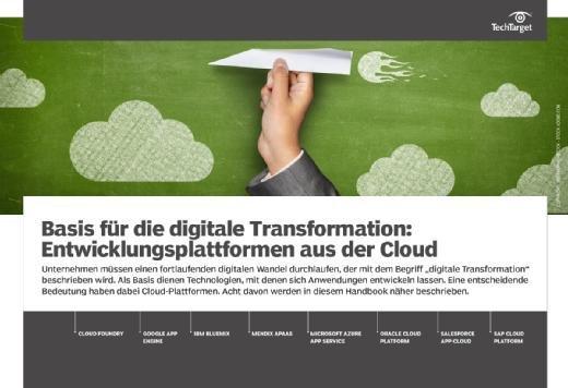 E-Handbook Entwicklungsplattformen aus der Cloud