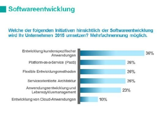 IT-Priorities Softwareentwicklung 2015