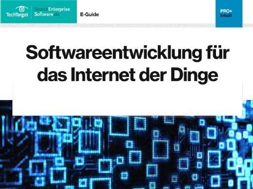 Softwareentwicklung fuer das Internet der Dinge