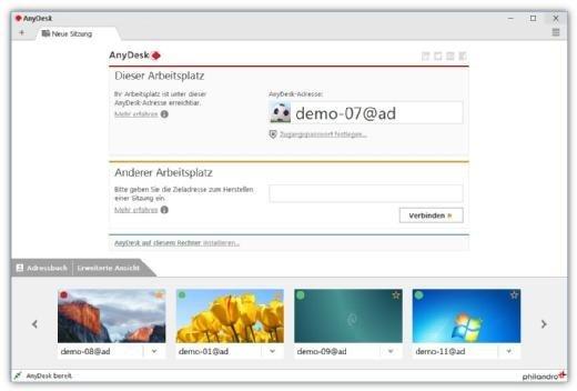 Remote-Desktop-Software - AnyDesk 3.0